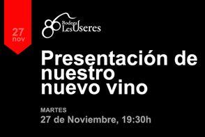 """Presentación de """"86 winegrowers"""""""